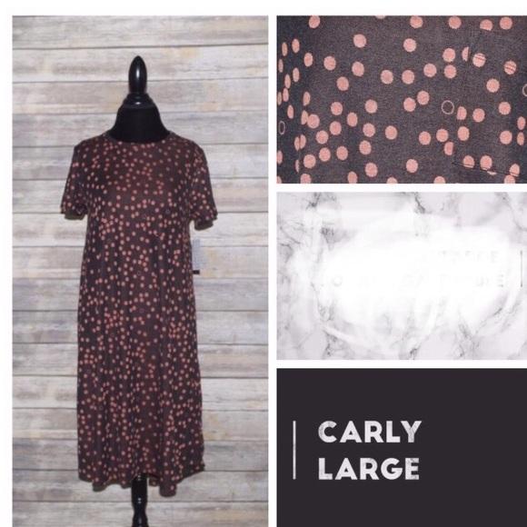 LuLaRoe Dresses & Skirts - L Lularoe Jacquard Carly